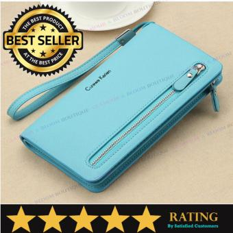 Curewe Kerien Authentic - Multifunction Long Wallet (LIGHT BLUE) Price Philippines