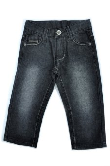 Robby Rabbit Jeans Authority Straight Cut Jeans with Belt (Black) Price Philippines