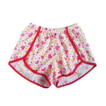 Ayla Intimates Women's Dolphin-style Hearts Boxer Shorts (Pink) Price Philippines