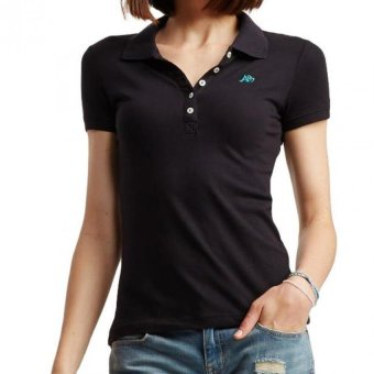Harga Aeropostale Women Polo Shirt (Black)