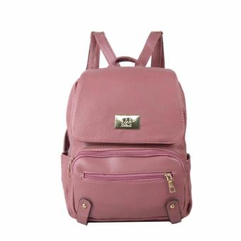 Harga DNJ 321 Plain Backpack (Old Rose)