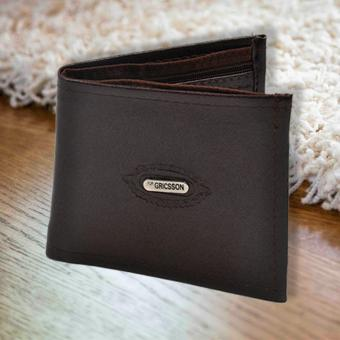 Fashionista Gricson Leather Wallet (Brown) Price Philippines