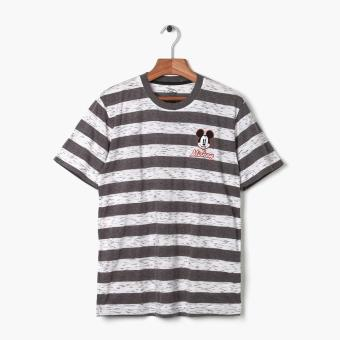 Harga Mickey Mouse Teens Striped Tee (Grey)