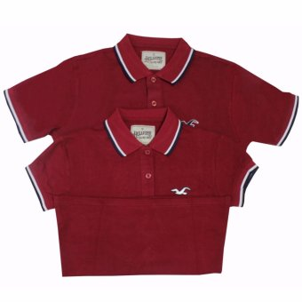 Hollister Couple Polo Shirt(Maroon) Price Philippines