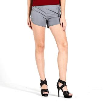 PENSHOPPE Swim Shorts W/ Un-Even Side Seam (Gray) Price Philippines