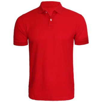 Harga Hanaya Polo Shirt (Red)
