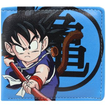 ANIME Dragon Ball Son Goku Trendy Printed Leather Wallet Price Philippines