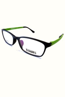Temples Rx 8008 C8 Eyeglasses (Black/Green) Price Philippines