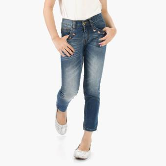 Just Jeans Girls Butterflies Denim Jeans (Blue) Price Philippines
