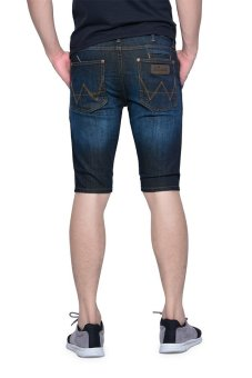 Harga Wrangler Crave Denim Shorts (Broken Blue)