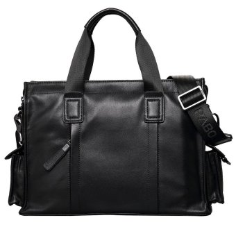 Pabojoe Men's Genuine Leather Business Casual Messenger Tote Bag - Intl Price Philippines