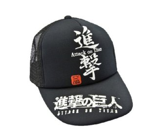 Harga Attack on Titan Shingeki no Kyojin Baseball Cap Hat Hiphop Anime