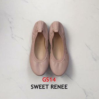 Harga Comfylishoes Embelished Garters Ballet Flats (Sweet Renee)