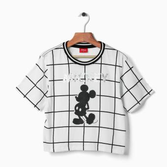 Harga Disney Mickey Mouse Teens Graphic Tee (White)