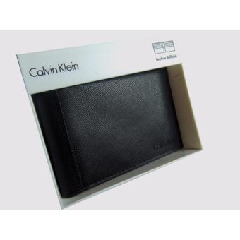 Harga Calvin Klein leather billfold men's wallet