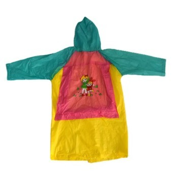Harga MMC H-886 Robi Cartoon Raincoat for Girls (Yellow)