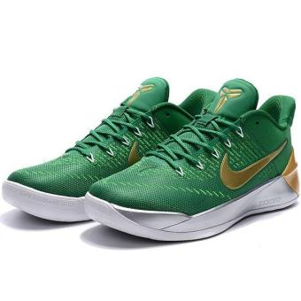 Harga Summer Sports Sneakers For Zoom Kobe 12th AD Basketball Shoes Men (Green/Gold) - intl