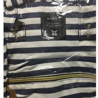 Anello Backpack (Blue Stripes) Price Philippines