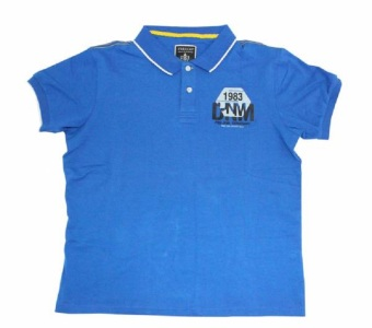 Harga Freego Feeling Blue Polo Tee