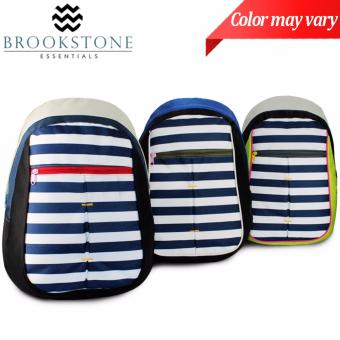 Brookstone Caron Knights Stripes Backpack (COLOR MAY VARY) Price Philippines