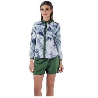 Harga Plains & Prints Icholas Long Sleeve Top (Multi)
