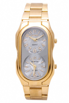 Harga Valentino Classic Women's Watch 20121696 (Gold/Mother of Pearl)