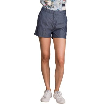 Harga Plains and Prints Nightingale Shorts (Dark Blue)