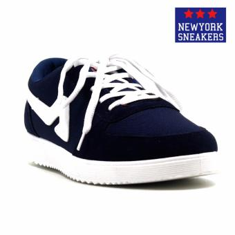 Harga New York Sneakers Hunter Rubber Shoes(BLUE/WHITE)