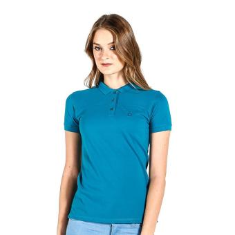 Harga PENSHOPPE Ribbed Ladies Polo (Teal)