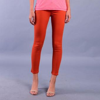 Rifle by Rodeo Drive Girl's Low Waist Super Skinny Pants (001Fine Rust) Price Philippines