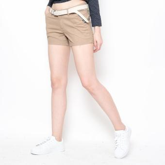 Harga Bum Ladies Basic Shorts (Khaki)
