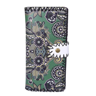 Fashion Women National Pattern Embroidered Wallet Long Purse Handbag Price Philippines