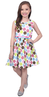 Harga Robby Rabbit Stay Classy Cotton-Woven Dress (Pink)