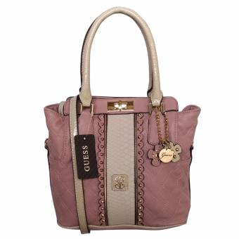 Harga Guess Miss Social Satchel Bag (Rose Pink)