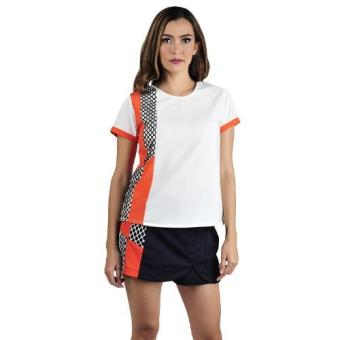 Harga Plains & Prints Henri Short Sleeves Top (Offwhite)