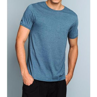 Harga BENCH-BUC0096CB4 Round Neck Tee with Puff (Celestial Blue)
