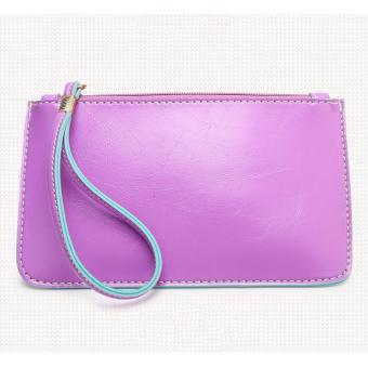 Korea candy leather pouch (Violet) Price Philippines