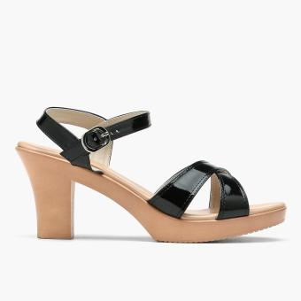 Harga Parisian Plus Ladies Nicki Heeled Sandals (Black)