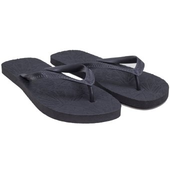 Juan Tsinelas EVA Rubber Slipper (Black - Black) Price Philippines