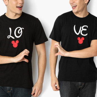 Harga Disney Mickey Mouse 2-piece Love Teens Tee Set (L)