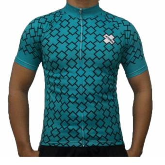 Harga Fortress Bicycle Drifit cycling top Full zipper Jersey (TOPJERSEY8)