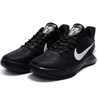 Harga Summer Sports Sneakers For Zoom Kobe 12th AD Basketball Shoes Men (Black/Silver) - intl