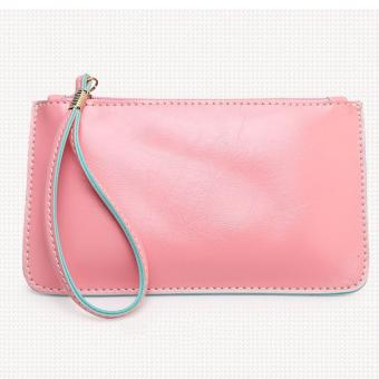 Harga Korea candy leather pouch (Old rose)