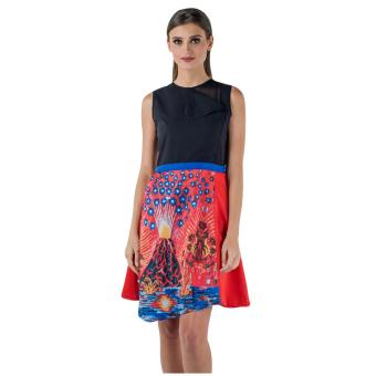 Harga Plains & Prints Jonjon Sleeveless Dress (Multi)