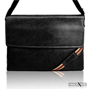 Attraxion Marc Messenger Crossbody Bag (Black) Price Philippines