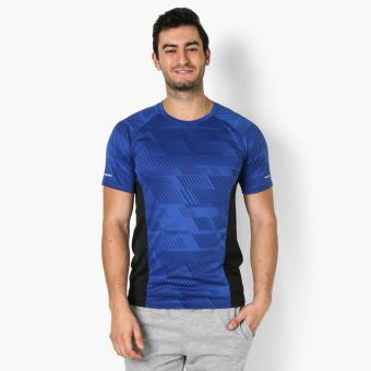 Harga Bo Athletics Mens Performance Tee (Blue)