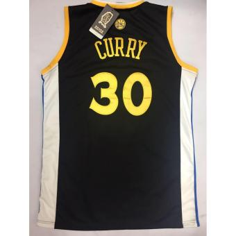 Hoops Golden State 30 CURRY Jerseys Shirt (Black) adult xl Price Philippines