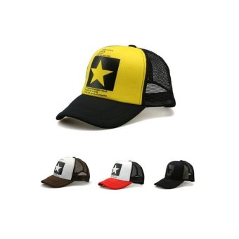 Harga TidePioneer Cool Men Women Baseball Caps Hiphop Sport (Yellow) - intl
