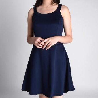 Harga Redgirl Sleeveless Dress Rgt08-1289 (Navy Blue)