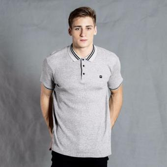 Harga PENSHOPPE Textured Polo Shirt (Grey)